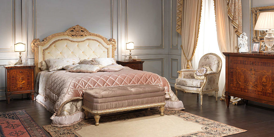 Camera da letto antico