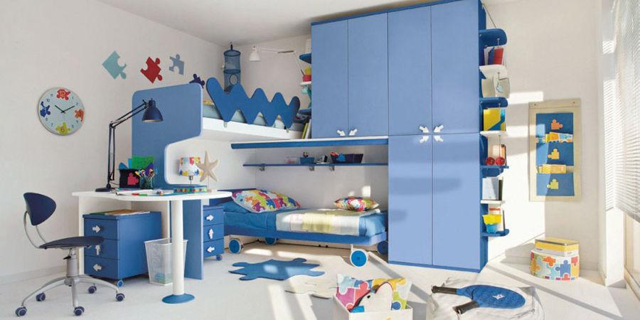 Camerette originali per bambini idee per il design della casa - Camerette colorate per bambini ...