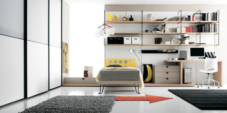 Camerette ragazzi moderne sicure moderne e funzionali le camerette moderne adatte per ragazzi - Camerette da principessa ...